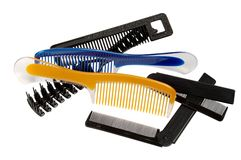Hairbrushes Stock Image