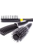 hairbrushes trois Photographie stock