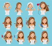 haircare libre illustration
