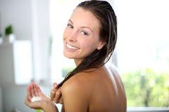 Haircare und Schönheit Lizenzfreie Stockfotografie