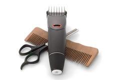 Hairclipper et tondeuse Photos stock
