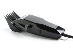 Hairclipper nero su fondo bianco Fotografia Stock Libera da Diritti