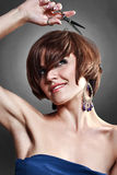 Haircut Royalty Free Stock Images
