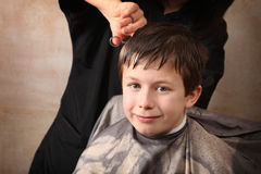 Haircut Stock Image