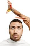 cutting hair Royalty Free Stock Image