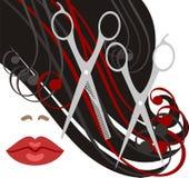 haircut ilustração do vetor
