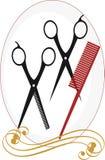 haircut ilustração royalty free