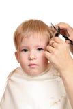 Haircut boy Stock Photography