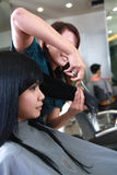 Haircut or hairstyle Royalty Free Stock Photos