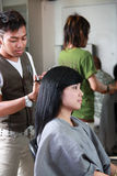 Haircut hairstyle Royalty Free Stock Photography