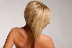 Haircut and hairstyle Royalty Free Stock Images