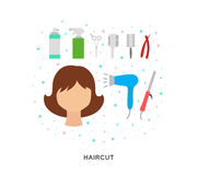 Haircut style Royalty Free Stock Photos