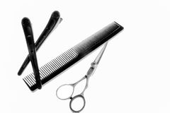 Haircutting Tools Royalty Free Stock Photo