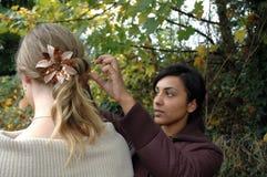 Hairdo 2 Royalty Free Stock Photo