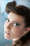 Hairdo And Makeup Royalty Free Stock Images