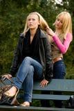 Hairdo das irmãs Fotos de Stock Royalty Free