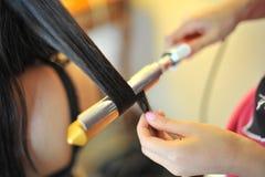 Hairdo della sposa Fotografie Stock Libere da Diritti