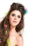 Hairdo and makeup Royalty Free Stock Photo