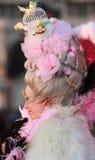 Hairdo sofisticado Fotos de archivo libres de regalías