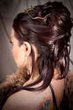 hairdress девушки Стоковые Фото