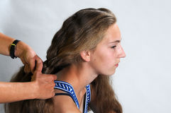Hairdress Stock Photography