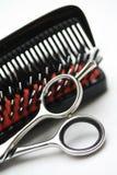 hairdress narzędzia obrazy stock