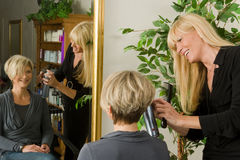Hairdresser Stock Photography