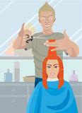 Hairdresser Royalty Free Stock Image