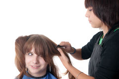 The hairdresser Stock Image