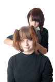 The hairdresser Royalty Free Stock Photo