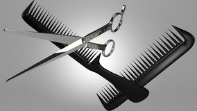 Hairdresser Royalty Free Stock Photography