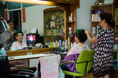 hairdresser Fotografia de Stock