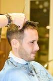 hairdresser imagem de stock