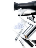 Hairdresser Accessories Stock Photo