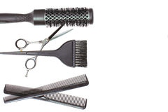 Hairdresser Accessories - Stock Image Stock Photos