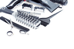Hairdresser Accessories - Stock Image Stock Photos
