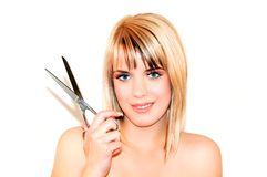 Hairdresser Royalty Free Stock Images