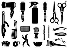 Hairdresser's accessories Stock Photography
