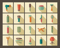 Hairdresser's accessories and tools Stock Photo