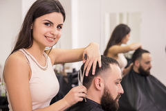 Hairdresser's Stock Photos