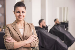 Hairdresser's Royalty Free Stock Photos