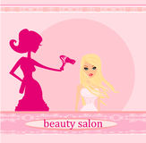 Hairdresser salon Royalty Free Stock Photo
