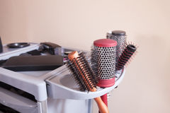 Hairdresser tools Stock Images