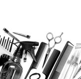 Hairdresser tools Royalty Free Stock Image