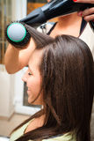 At hairdresser Stock Images