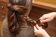 At hairdresser Stock Photo