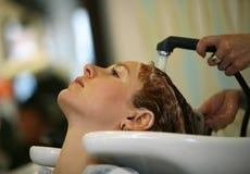 hairdressing αίθουσα Στοκ Εικόνα