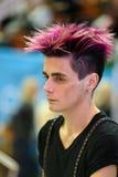 Hairdressing διαγωνισμός Στοκ φωτογραφία με δικαίωμα ελεύθερης χρήσης