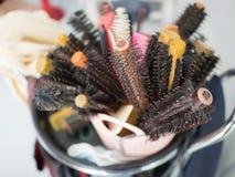 Hairdressing εξάρτηση για τα σαλόνια ομορφιάς στοκ εικόνα