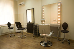 hairdressing σαλόνι Στοκ Φωτογραφία